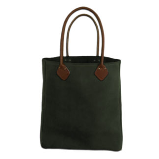 green-suede-tote-bag